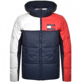 GIUBBOTTO TOMMY JEANS ESSENTIAL COLOR BLOCK DM0DM07116