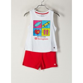 CHAMPION ITALIA canotta + short
