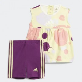 ADIDAS set canotta+short