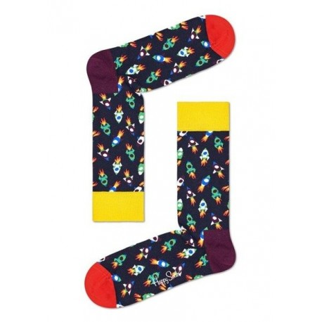 CALZINI HAPPY SOCKS ROCKET ROC01
