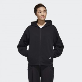 FELPA ADIDAS 3-STRIPES WORDING FULL-ZIP GF6977