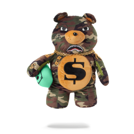 SPRAYGROUND money bear teddy camo