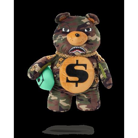 SPRAYGROUND money bear teddy camo