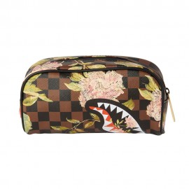 SPRAYGROUND shark flowers pouch