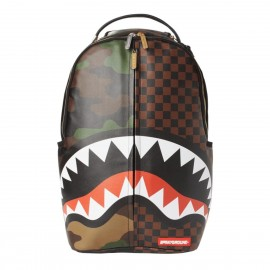 SPRAYGROUND checks & camouflage