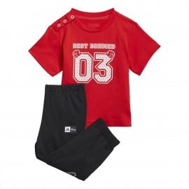 ADIDAS set shirt+short