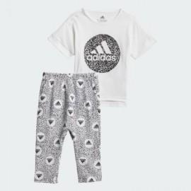 ADIDAS set legg+shirt