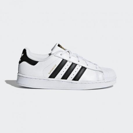 Scarpe Superstar Pelle Tomaia Lifestyle In Ba8378 Con Adidas Moda rsQhdt