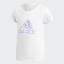 T-SHIRT RAGAZZA ADIDAS ESSENTIALS PERFORMANCE LOGO CF7288