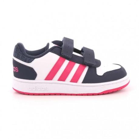 2 Scarpe Adidas Bb7334 0 Hoops Da Bambino fwqdnXd