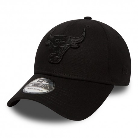 80635949 Cappello New Era Chicago Bulls Black on Black 4404477085cf