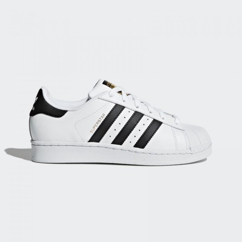 Adidas Superstar Bianche E Nere Bambino bancadatigiovani.it