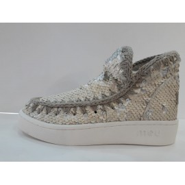 STIVALI MOU ESKIMO SNEAKER ALL SEQUINS