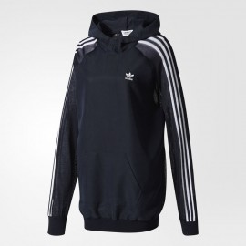 OUTLET ADIDAS str long hoodi wm Felpa donna Adidas cappuccio